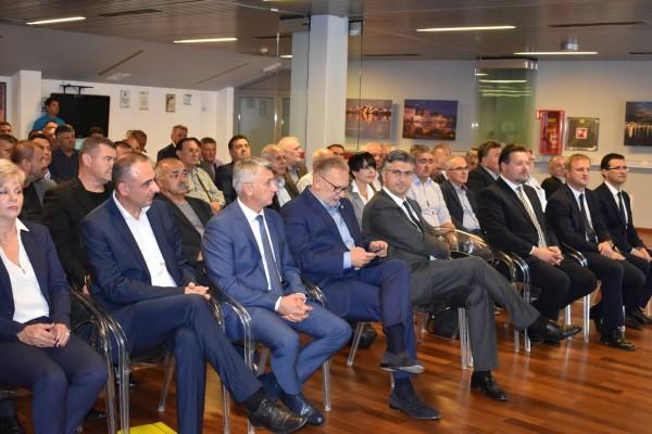 Predsjednik HDZ-a Andrej Plenković u Zadru: Ovo je najjače uporište Hrvatske demokratske zajednice