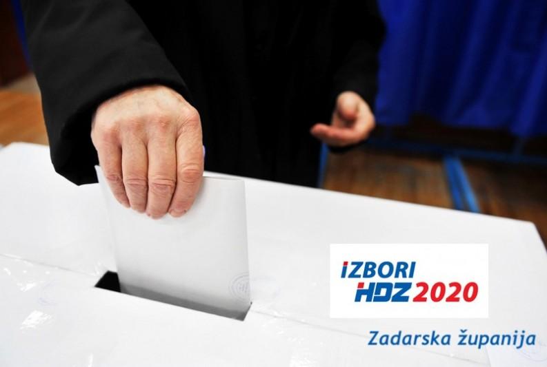 POZIV  za sudjelovanje na izborima za članove ŽO HDZ-a Zadarske županije i članove (izaslanike) na Opći sabor HDZ-a
