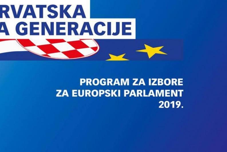 HDZ-ovi kandidati za europski parlament u subotu u Zadarskoj županiji
