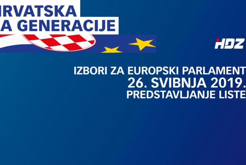 Plenković i kandidati za europske izbore u ponedjeljak u Zadru