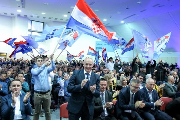Svojim smo uspjesima potvrdili da smo pobjednička stranka koja zna voditi hrvatski  narod i državu