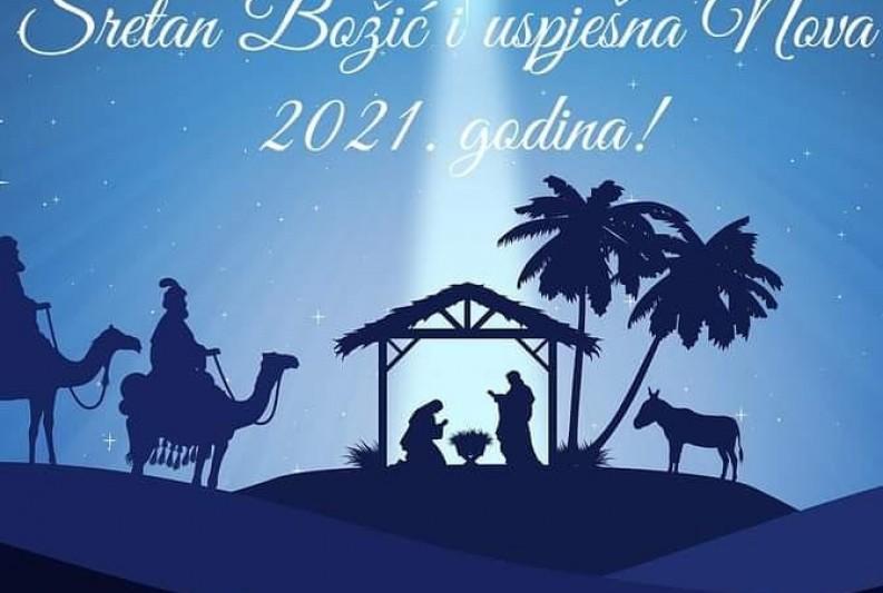 Sretan Božić i uspješna nova 2021. godina