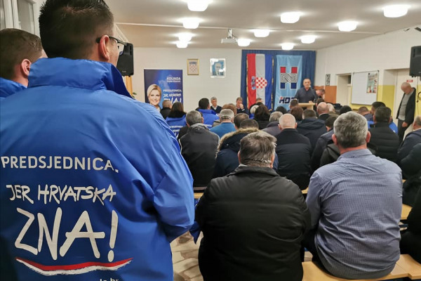 Pridraga, Škabrnja i Zemunik uz Kolindu Grabar-Kitarović