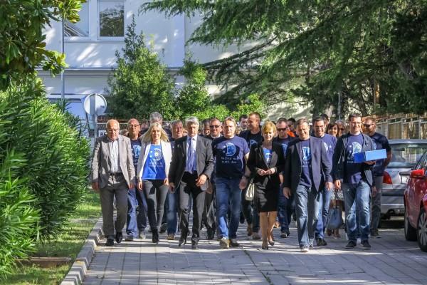 Predani potpisi potpore kandidaturi Branka Dukića za gradonačelnika