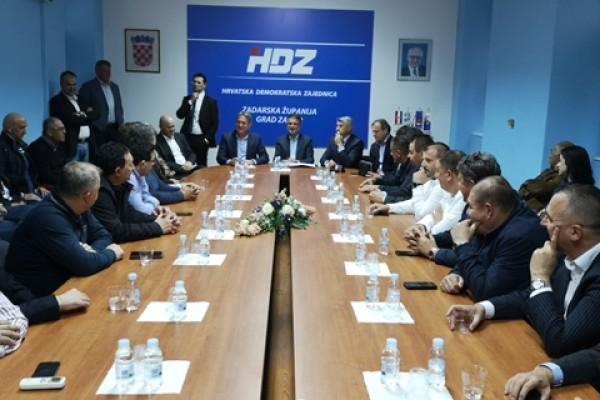 Jandroković: U Zadru i Zadarskoj županiji pobijedit ćemo na izborima za EU parlament