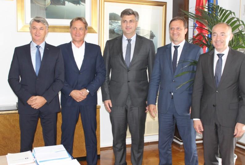 Predsjednik Vlade RH: Pomoći ćemo Zadru i Zadarskoj županiji da se još bolje razvija