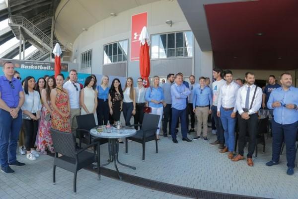 Druženje s članovima pobjedničke organizacije HDZ-a