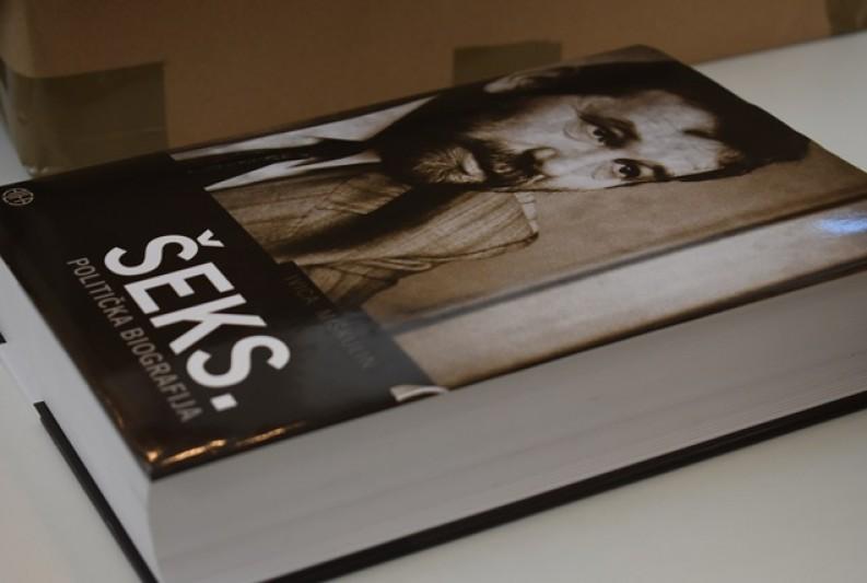 Predstavljena politička biografija Vladimira Šeksa
